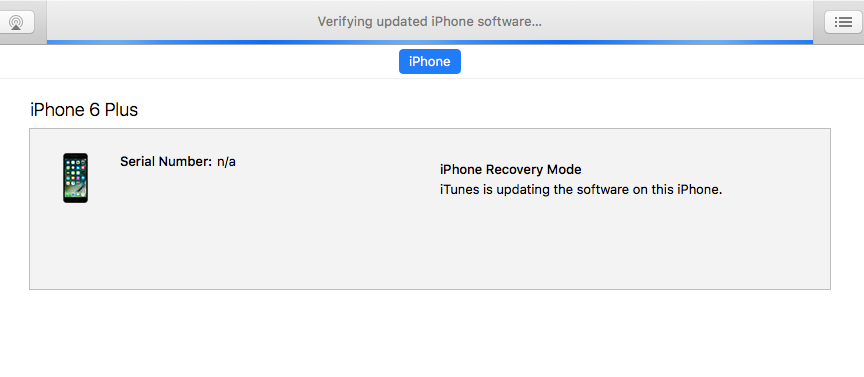 Verifying updated iPhone software … - Apple Community