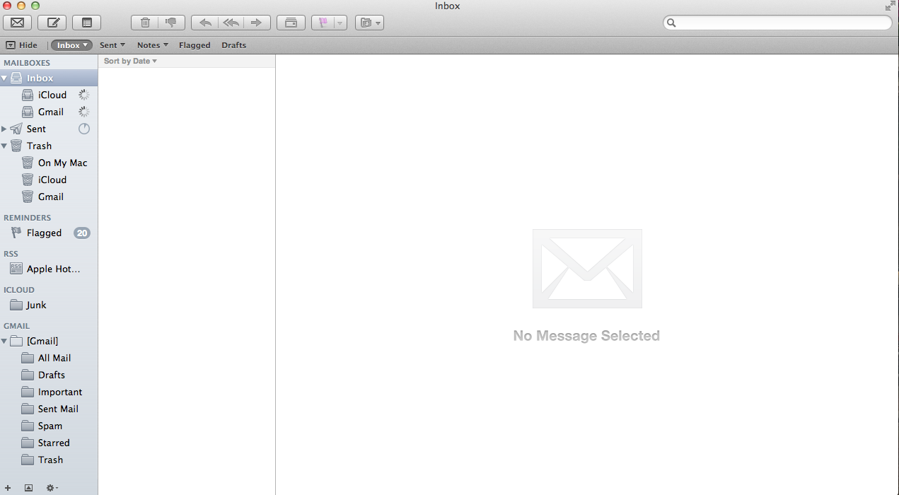 Mail not loading on Mac - Apple Community