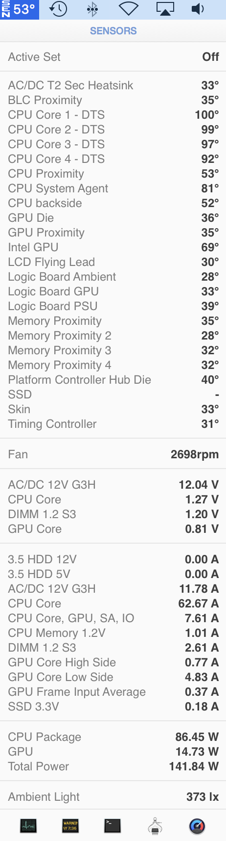 iMac 5k with ridiculous high temperatures - Apple Community