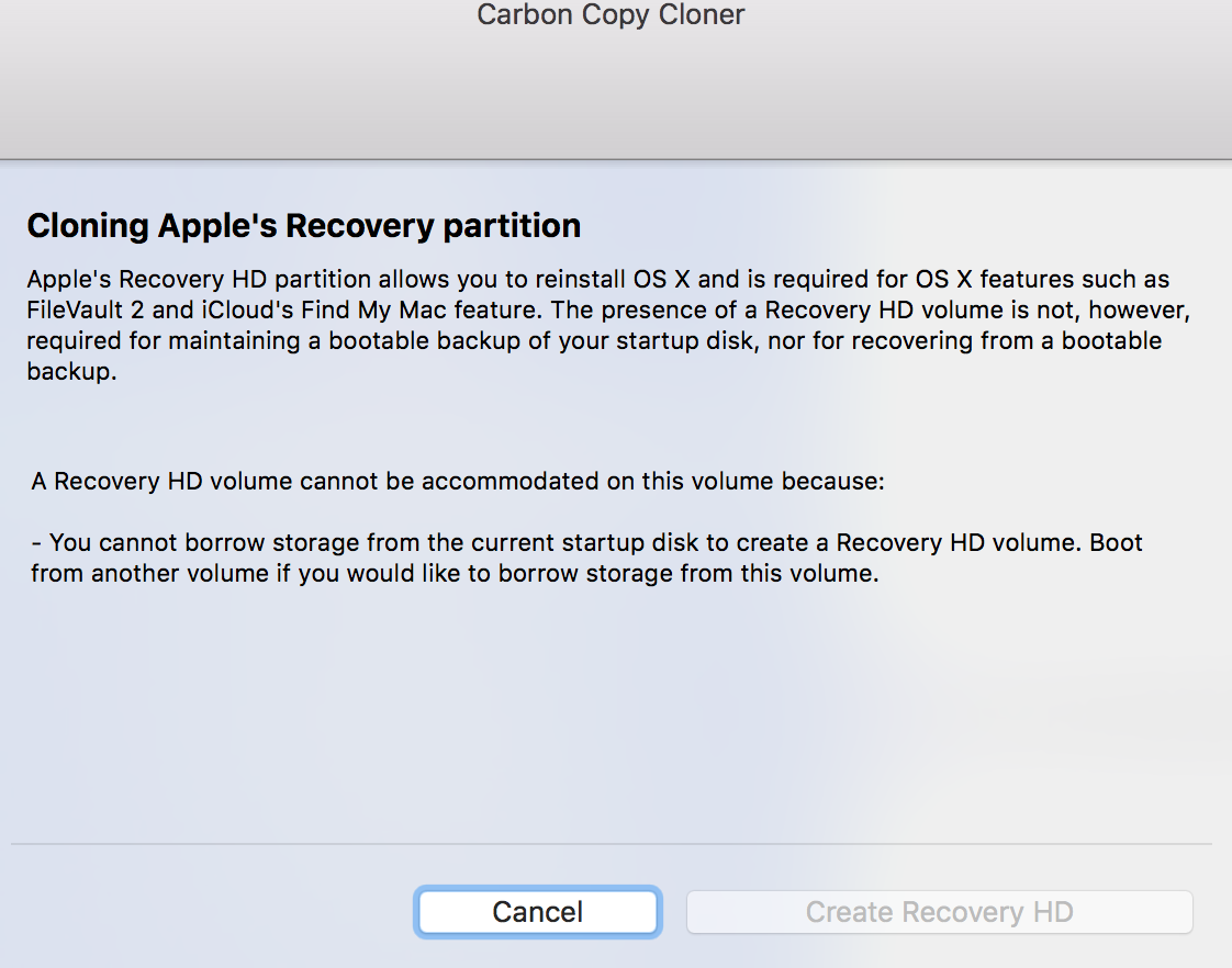 How to create macOS Recovery Partition wi… - Apple Community