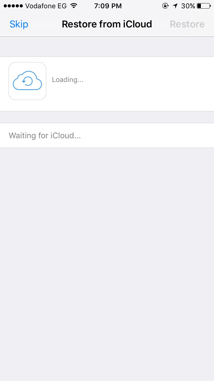 why whatsapp stuck loading restore from i… - Apple Community