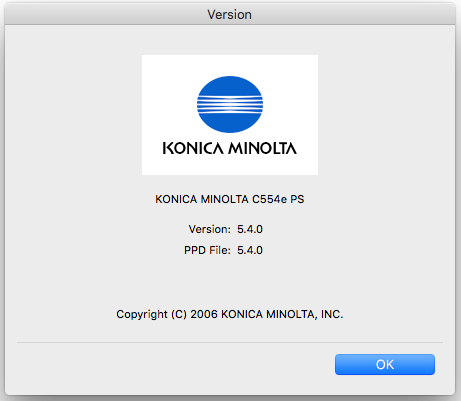 Konica Minolta, not able to print in color - Apple Community