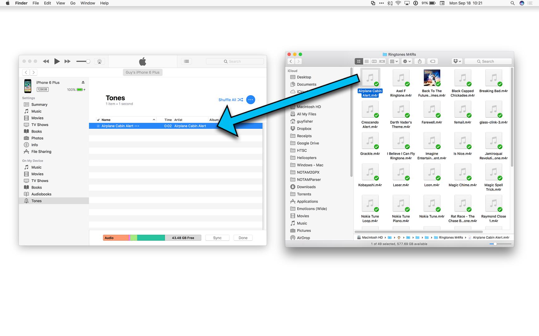 After iTunes 12 7 how can I add custom ri… - Apple Community