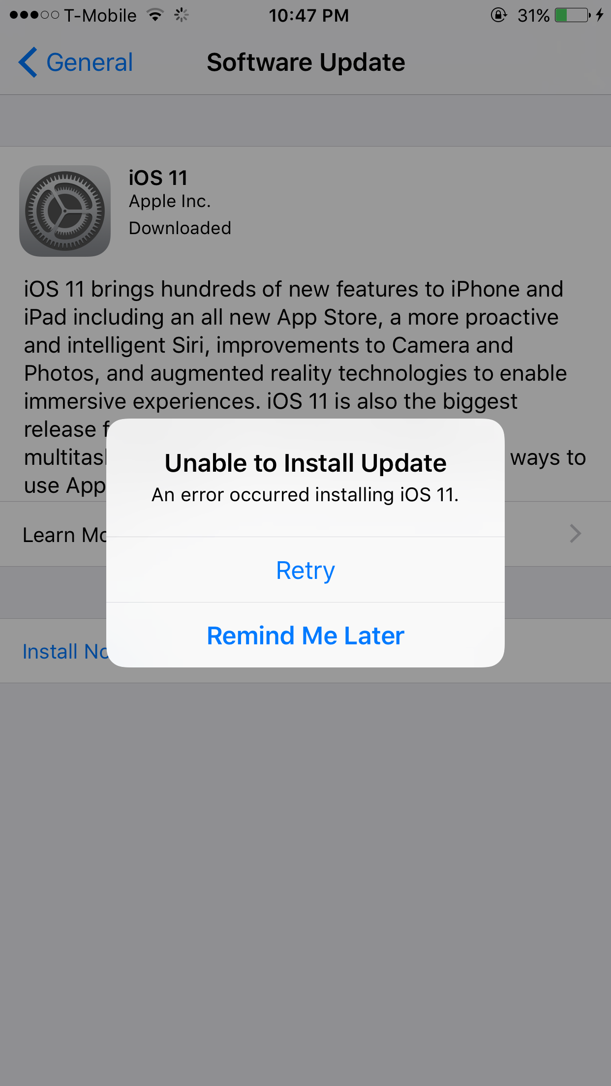Why won't my iPhone 6s Plus update fr… - Apple Community