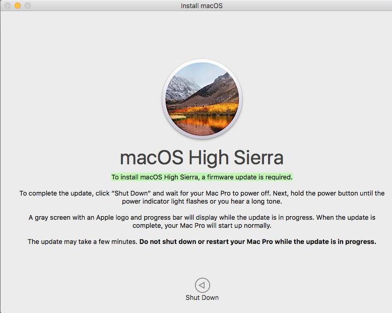 Firmware Update Mac