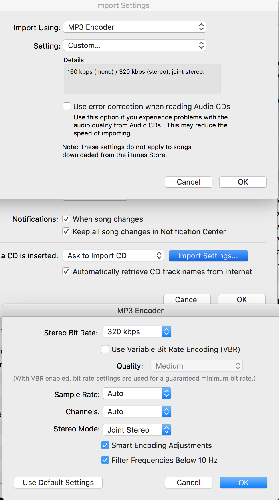iTunes 12 7 can't convert to mp3?! - Apple Community