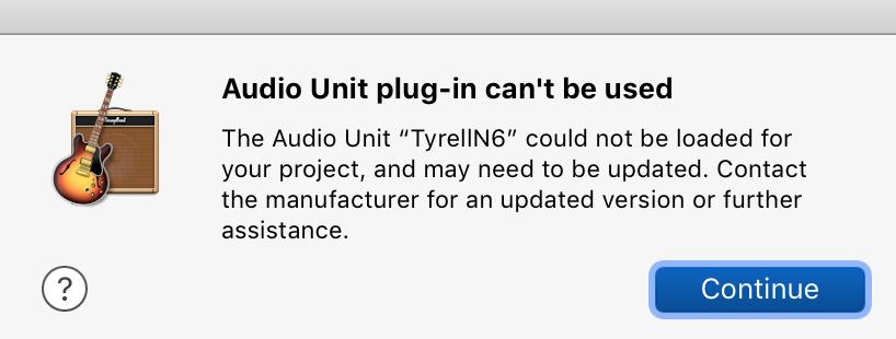 Garageband AU not working after High Sier… - Apple Community