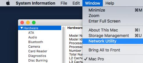 Network Diagnostics app missing - Apple Community