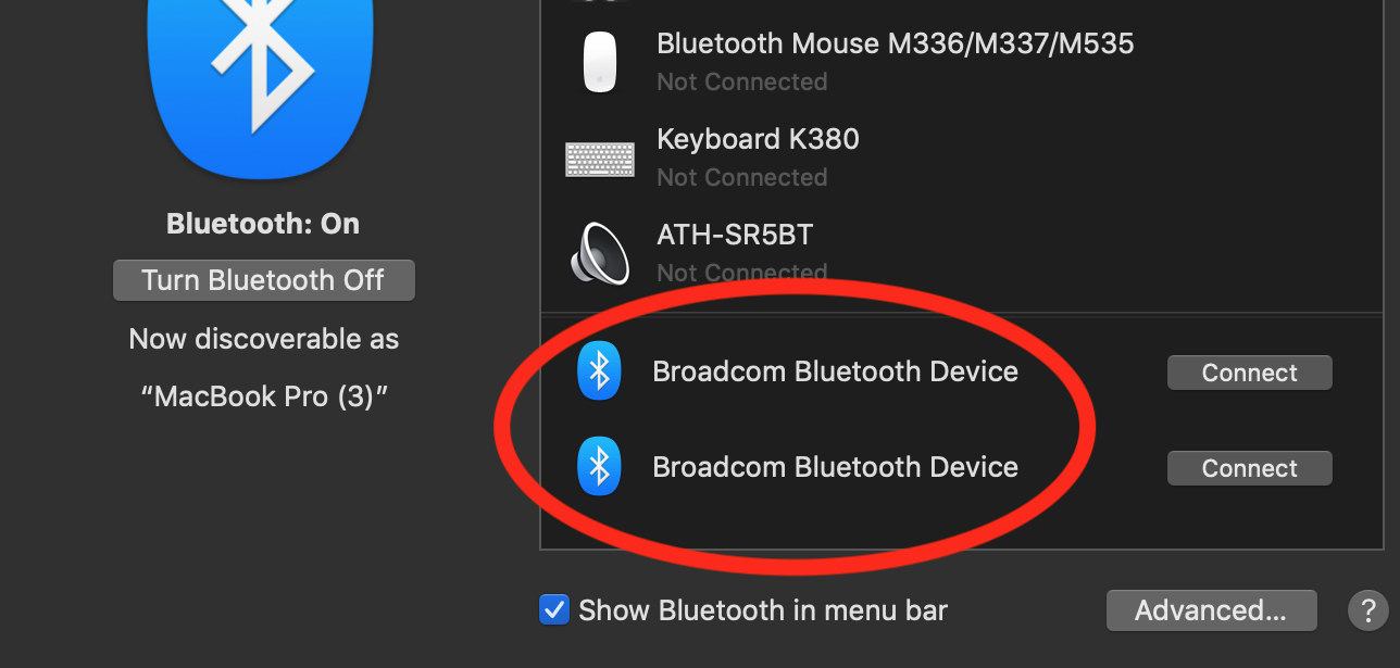 Bluetooth Automatically Pairs with