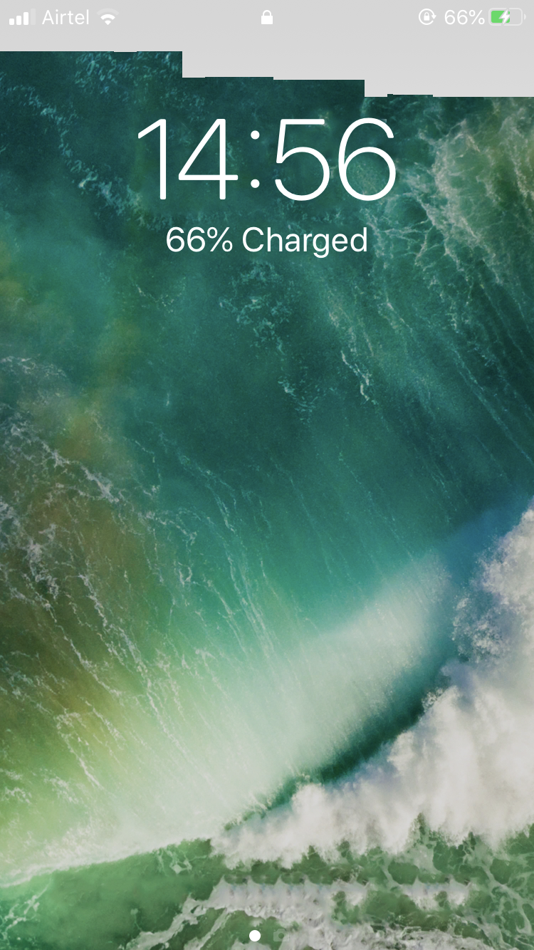May Be A Wallpaper Bug Apple Community