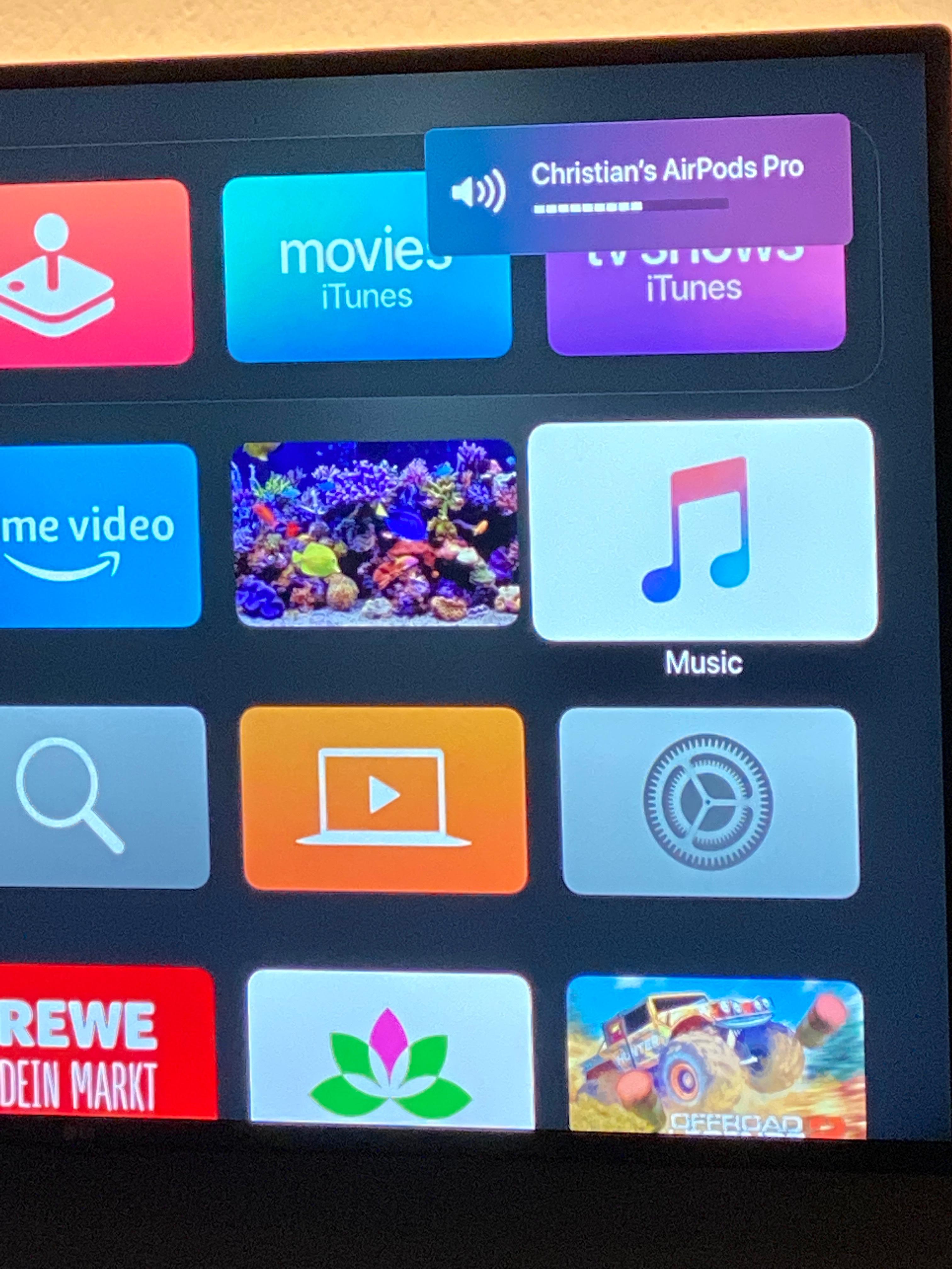 Airpods Pro Apple Tv No Volume Contro Apple Community