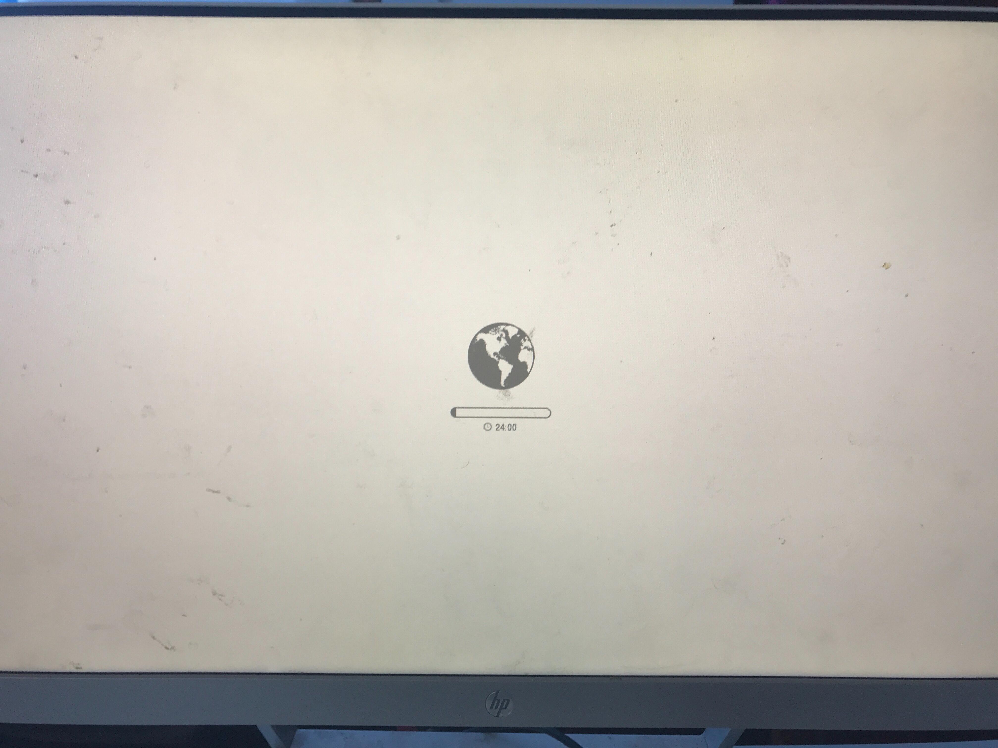 iMac Internet recovery stuck, says 24:00 … - Apple Community