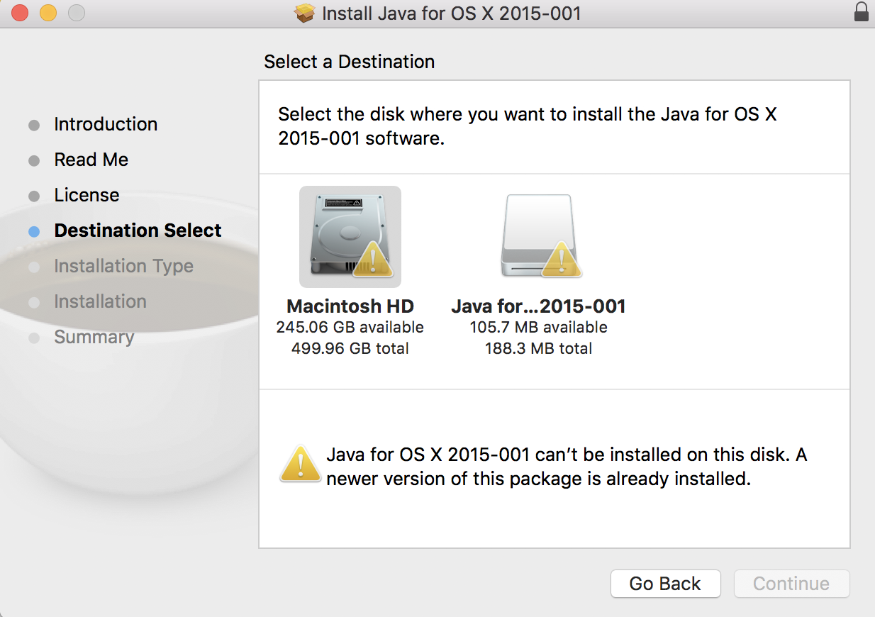 How do I completely remove Java from High… - Apple Community