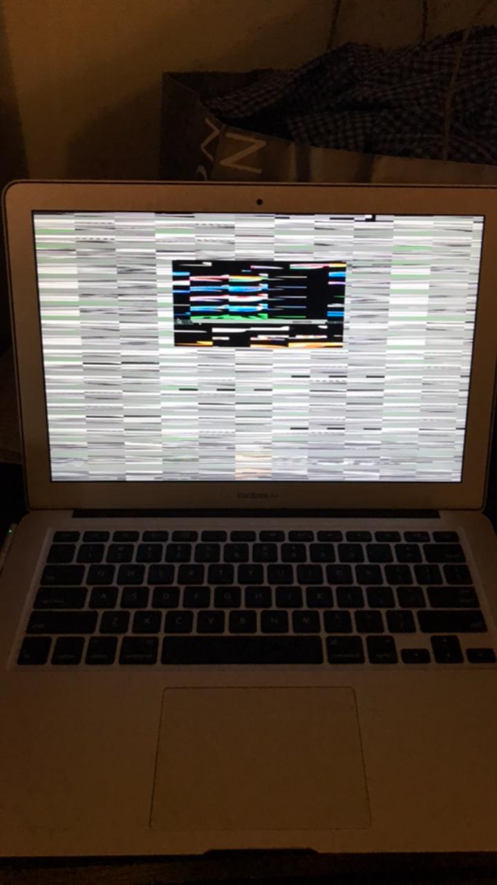 MacBook Air Pixelated Screen - Apple Community