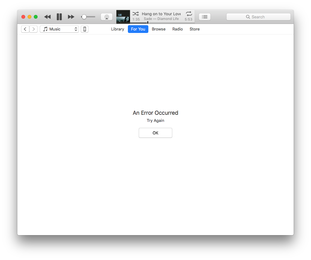 iTunes Apple Music 'For You' tab:… - Apple Community