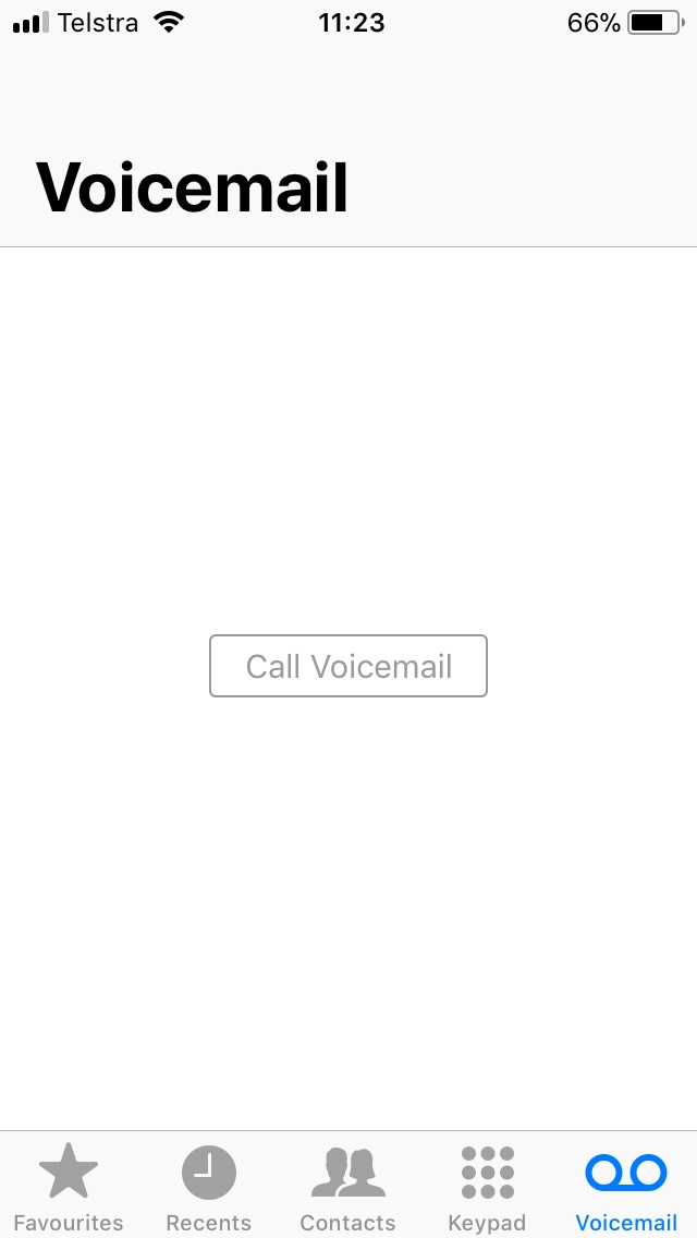 How to change your voicemail number on iphone 6