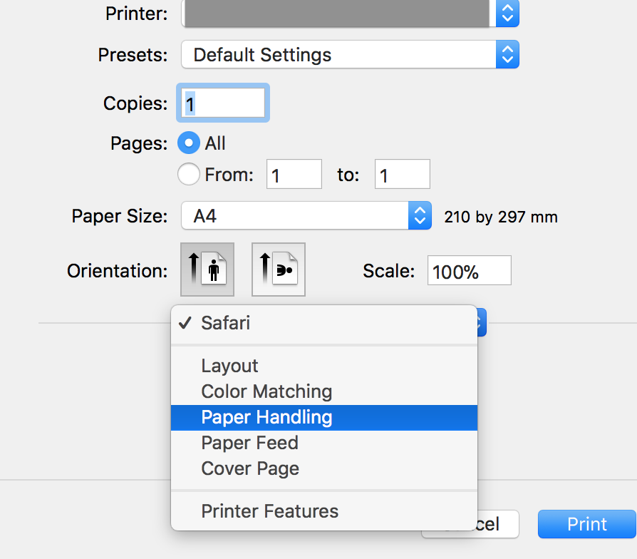 How to enable two-sided printing on MacBo… - Apple Community