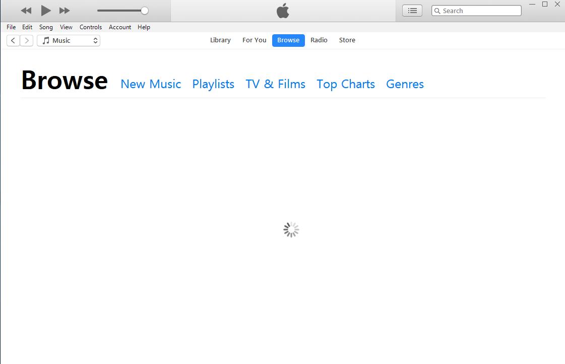 Apple Music - iTunes Spinning Wheel - Apple Community