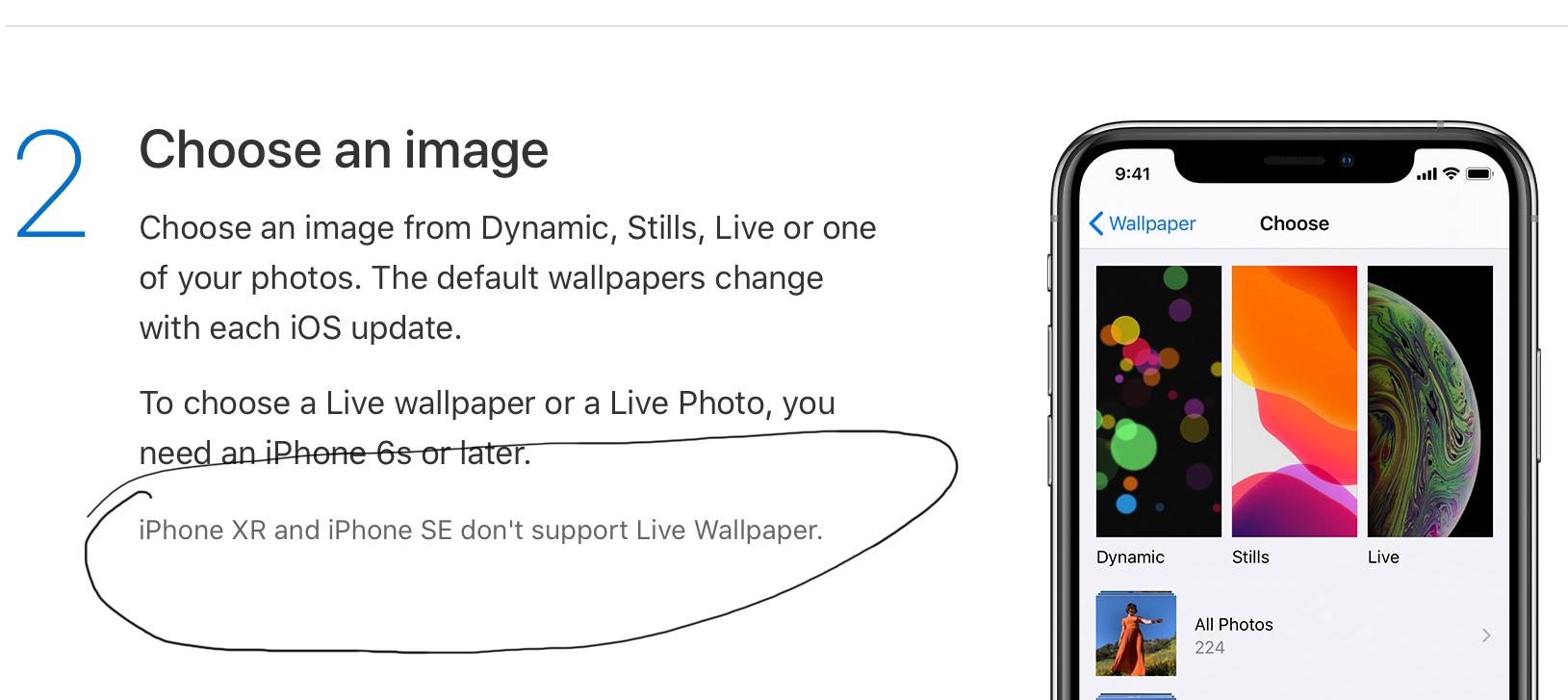 Live Wallpaper On Newest Iphones Se Apple Community