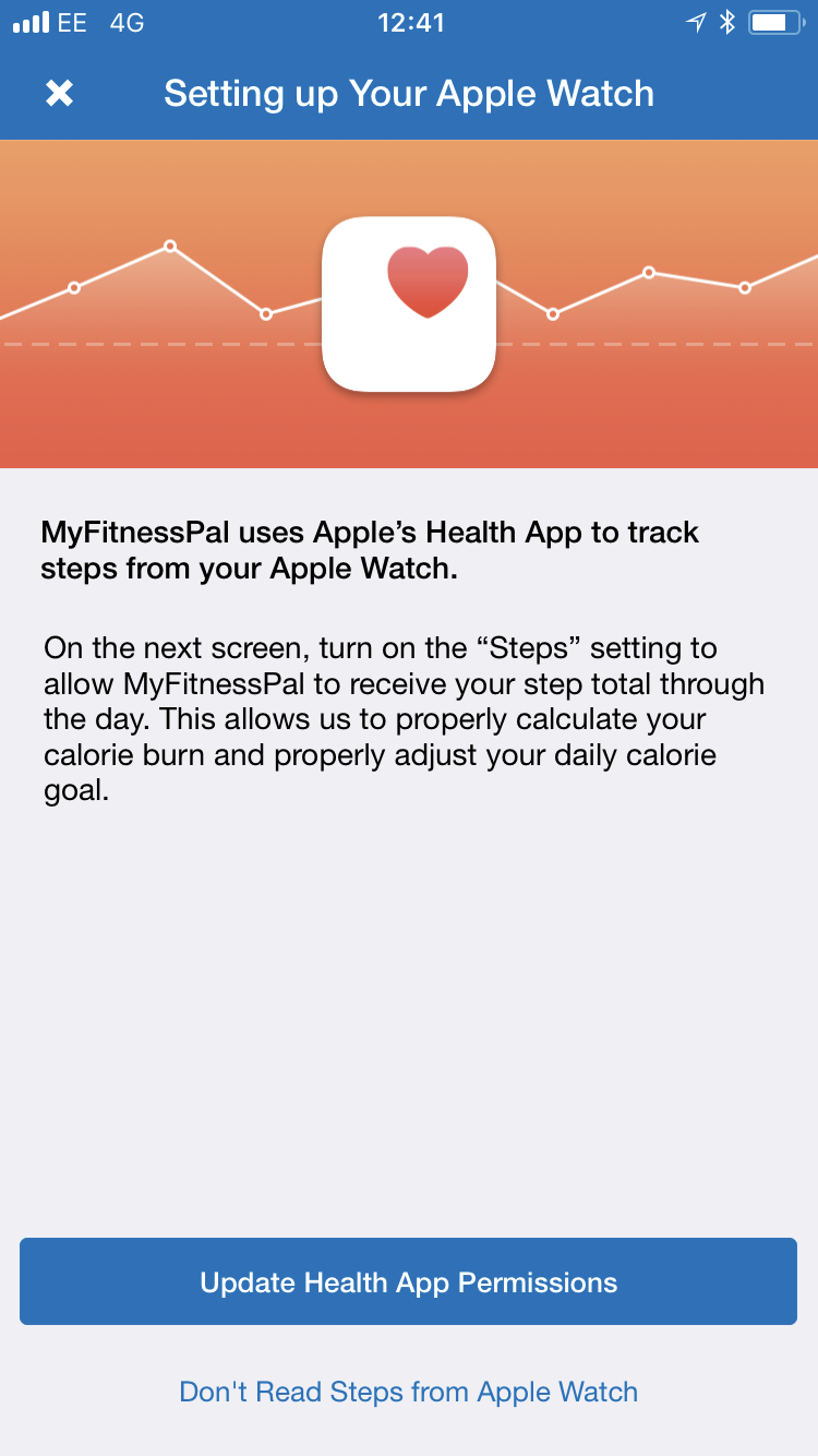 health app stopped syncing with myfitness… - Apple Community