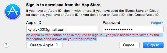 Verification code without other device - Apple Community