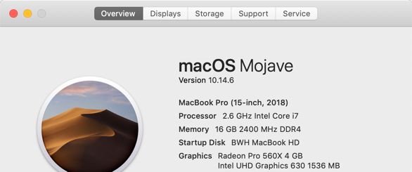 Mojave 10 14 6 crashes while using video … - Apple Community