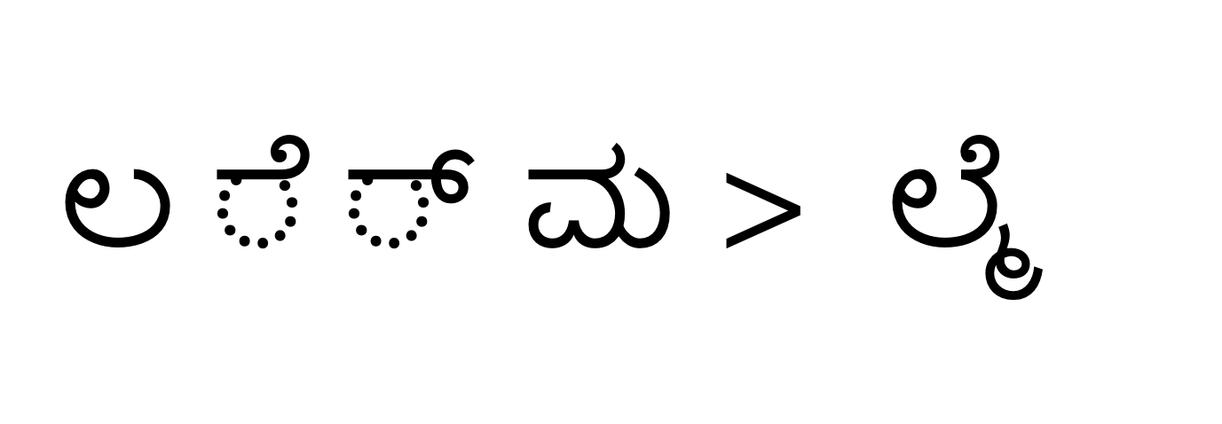 Kannada Ottakshara Typing