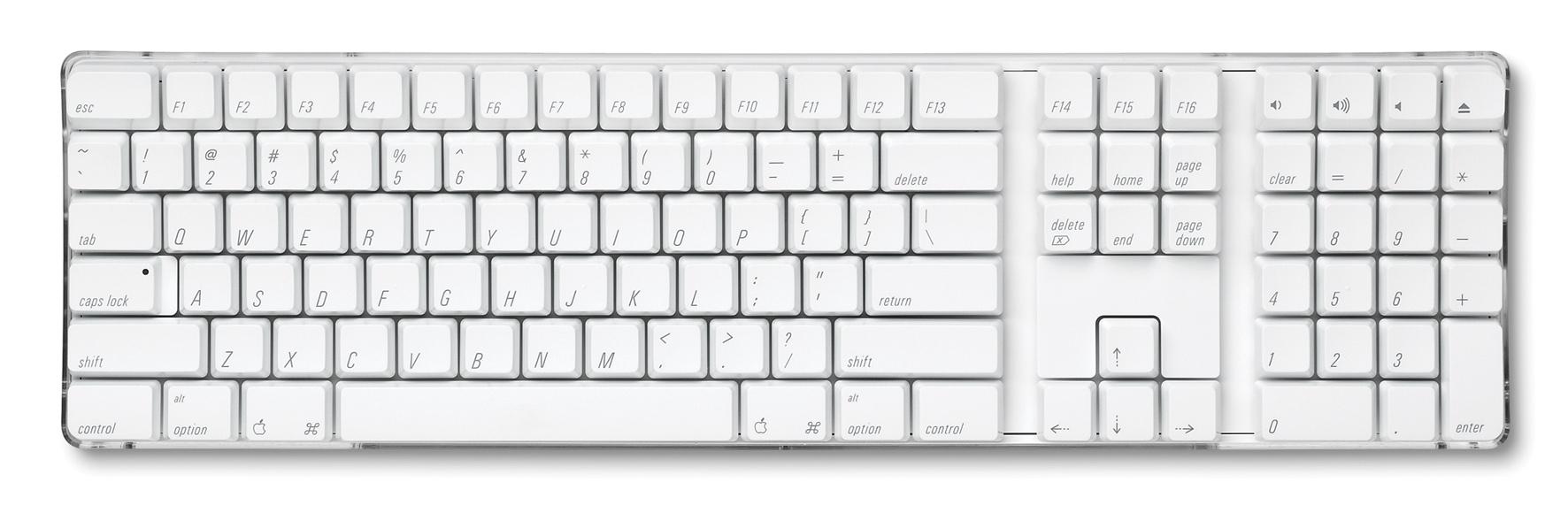 Num Lock Apple Wireless Keyboard