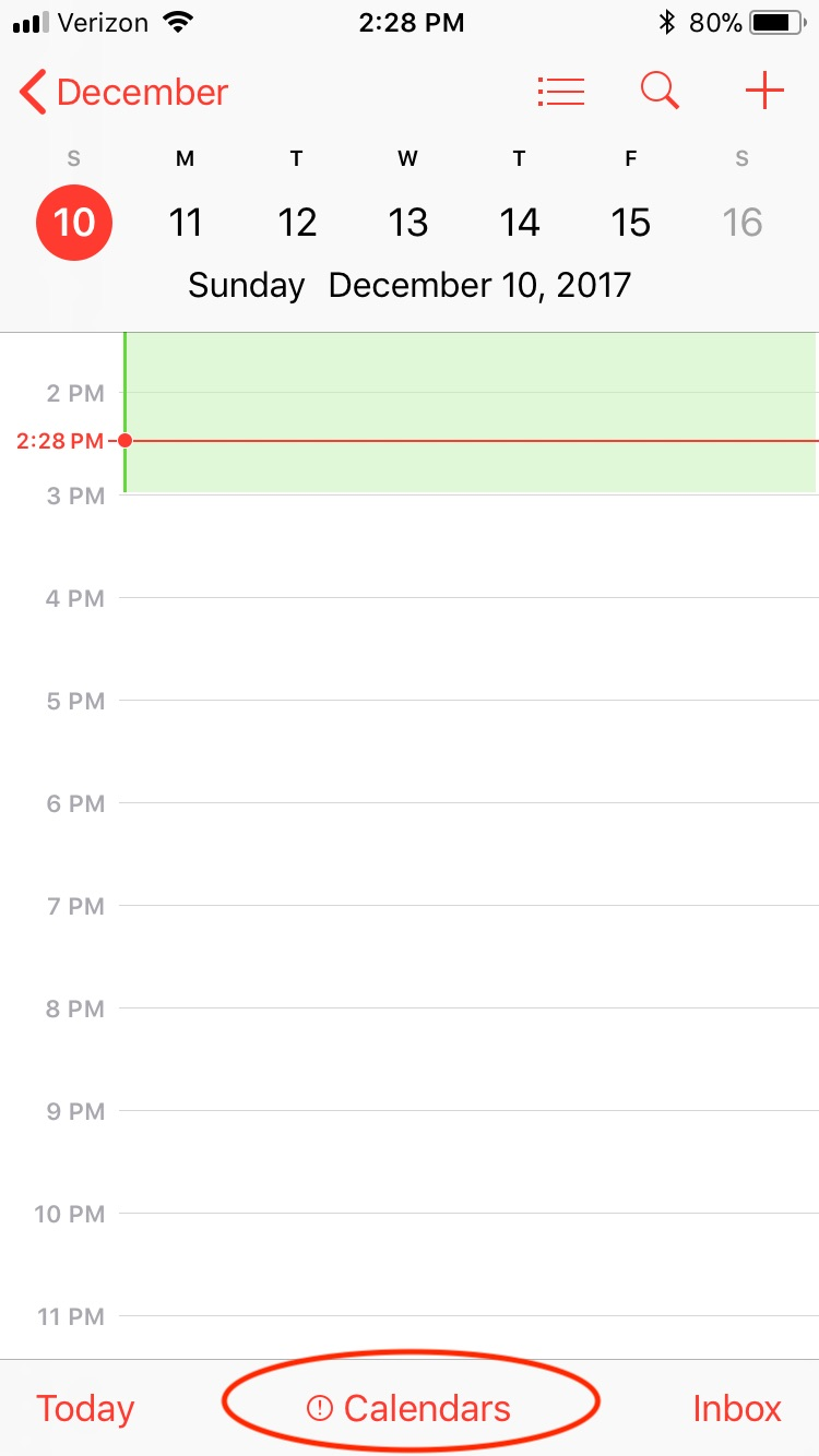 Little red exclamation marks in calendar - Apple Community