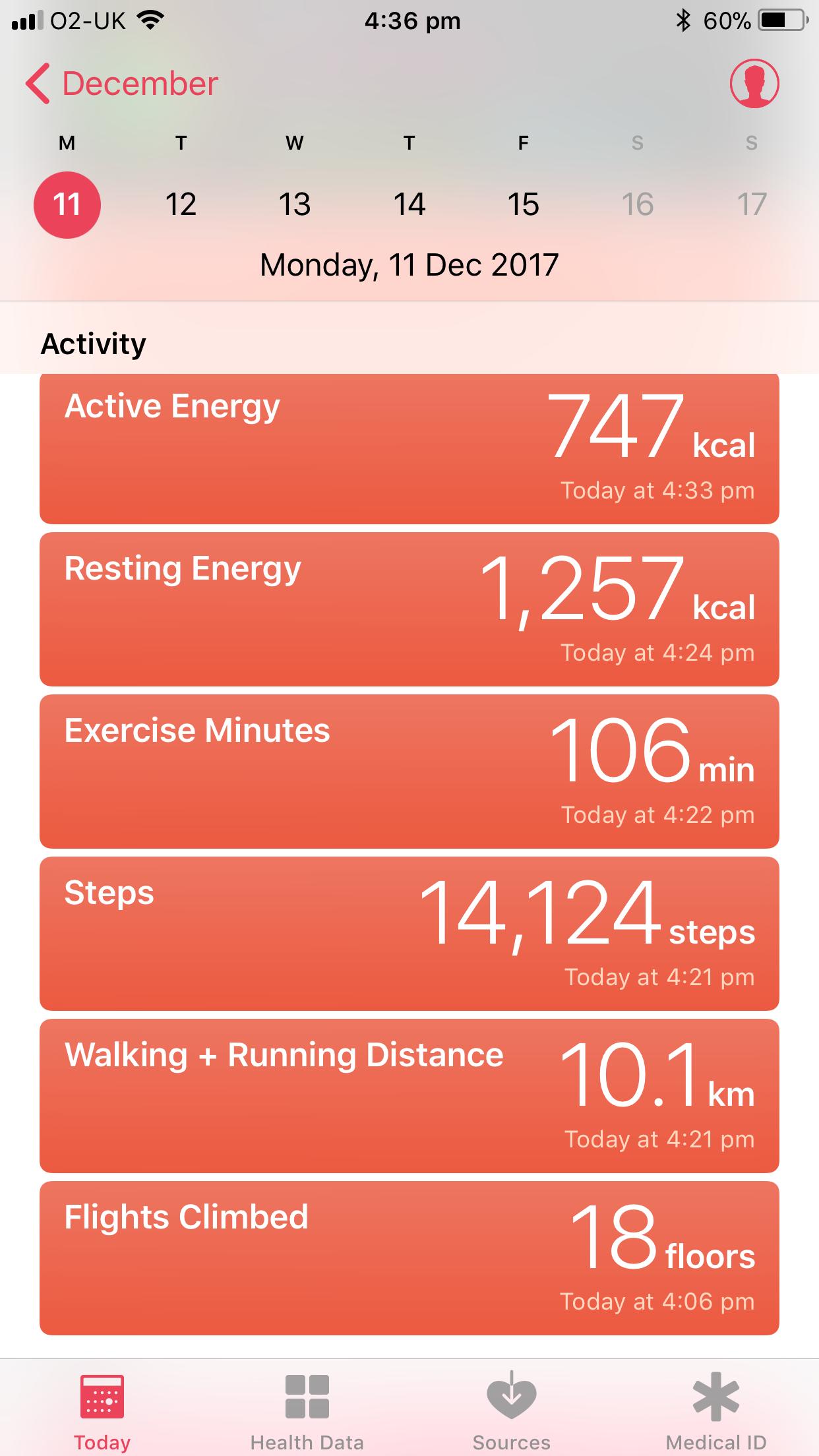 My health app & my activity app do not re… - Apple Community