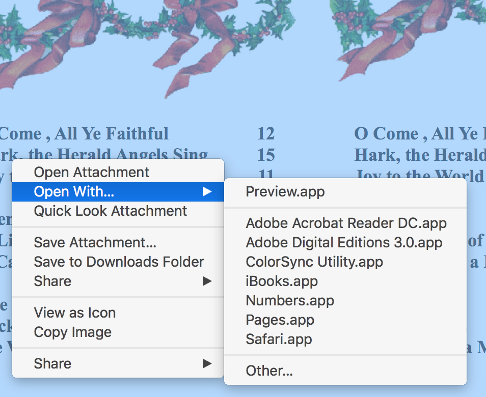How to get a holiday newsletter template … - Apple Community