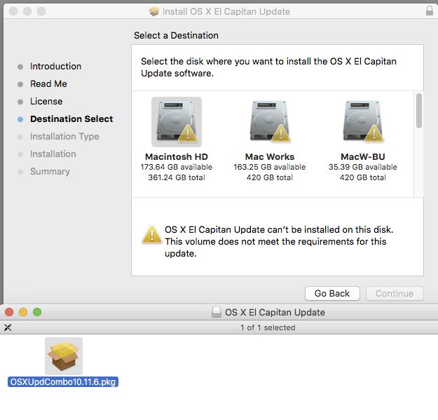 Update Mac Os 10.11