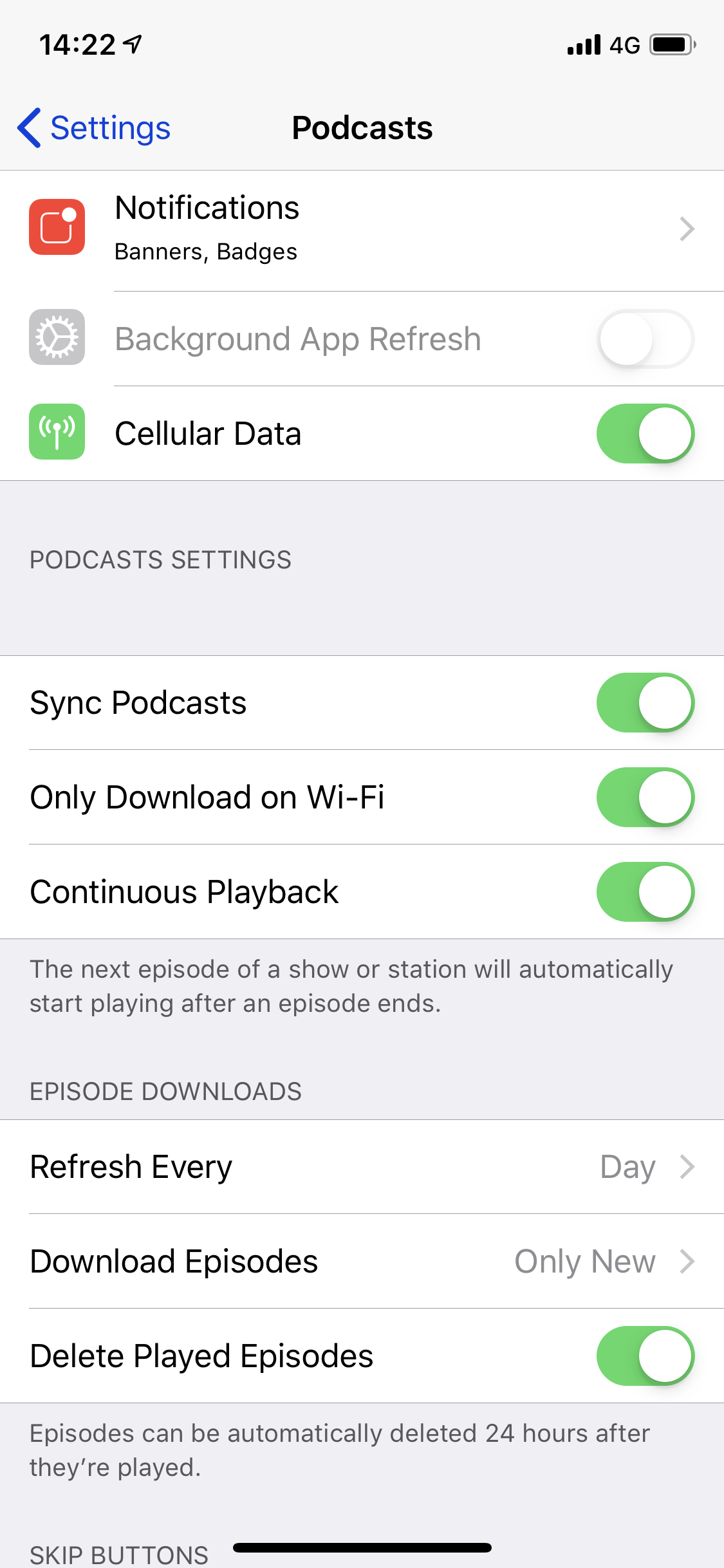 Podcasts downloading even though selected… - Apple Community