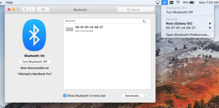 My Macbook keeps pairing with an unknown … - Apple Community