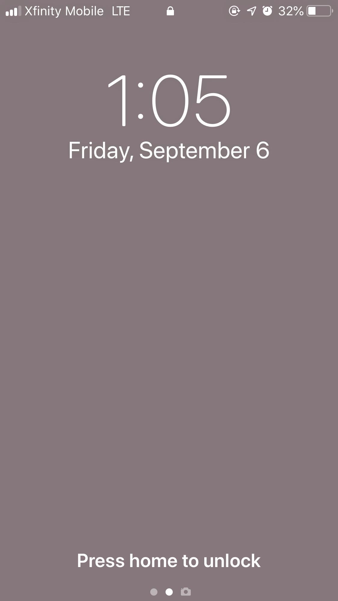 Wallpaper Not Visible On Lock Screen Apple Community