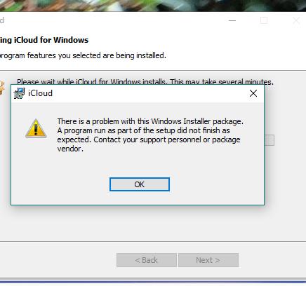 icoud installing on windows 10 - Apple Community