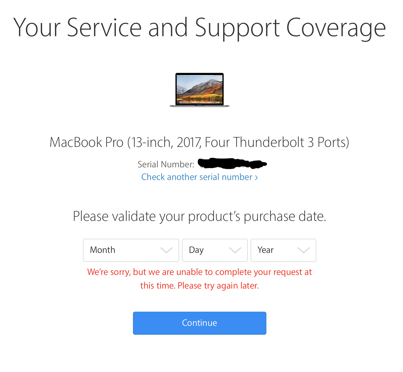 how to check my macbook warranty