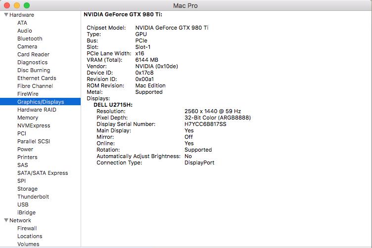 The GPU in my Mac Pro 5,1 is inactive  Ho… - Apple Community