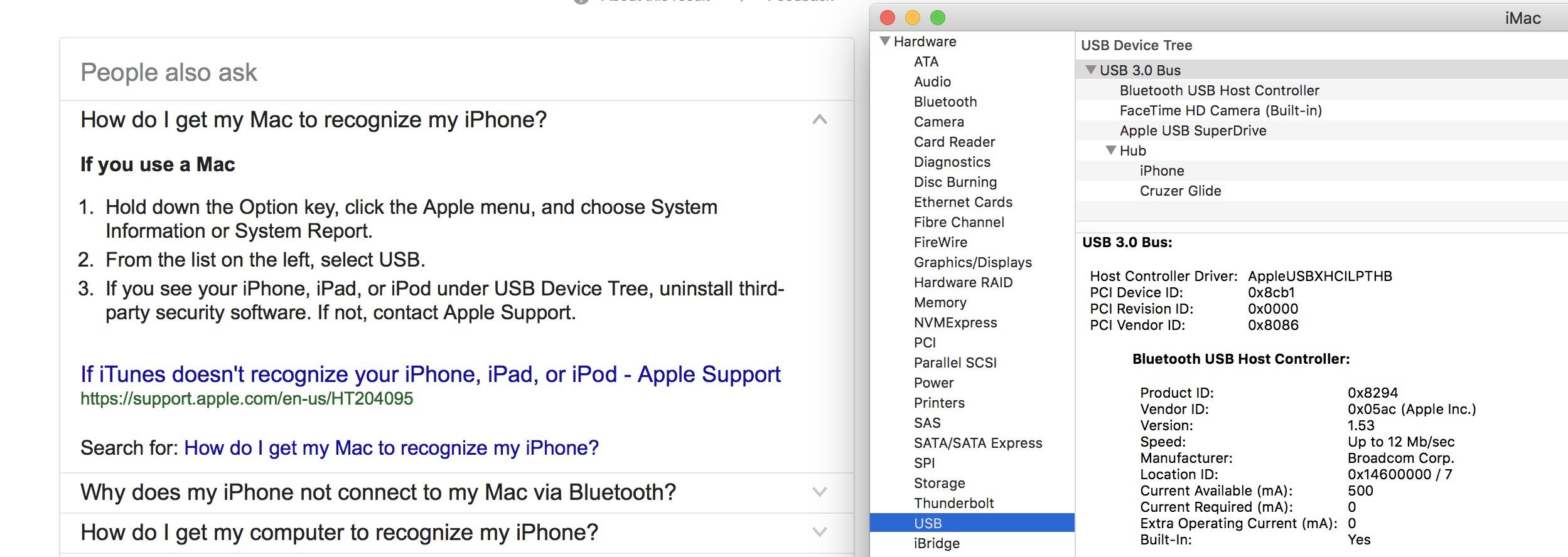 iMac 10 13 2 won't recognize iPhone 1… - Apple Community