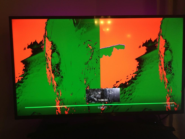 Apple TV 4k Split Green/Red Screen - Apple Community