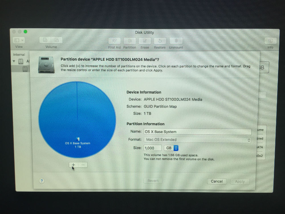 OS X Base System only disk available - Apple Community