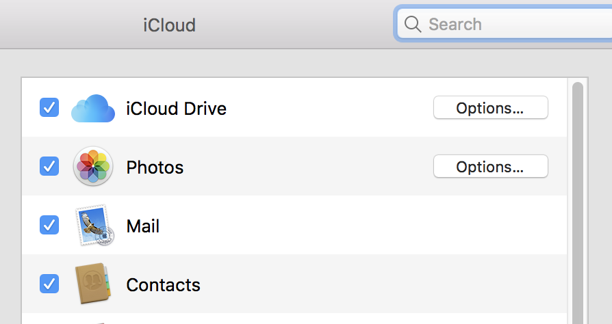 iCloud Contacts to Mac High Sierra Do Not… - Apple Community