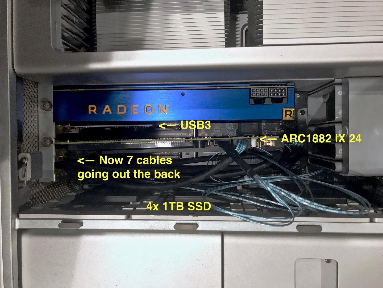 Installing a Radeon Vega Frontier Edition… - Apple Community
