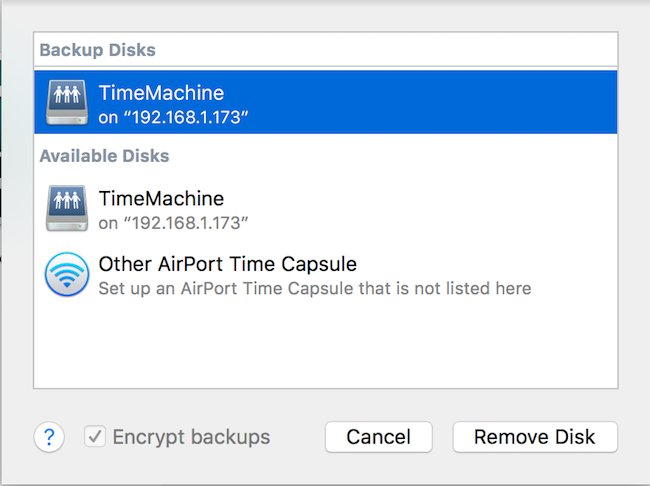 TimeMachine w/ Synology NAS will not star… - Apple Community