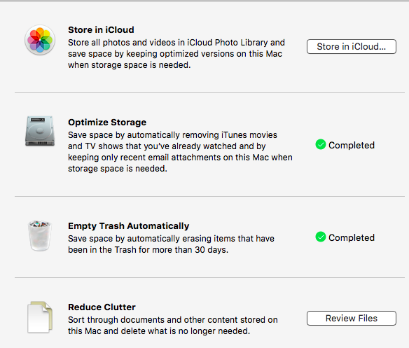 How to clear the System Storage? - Apple Community