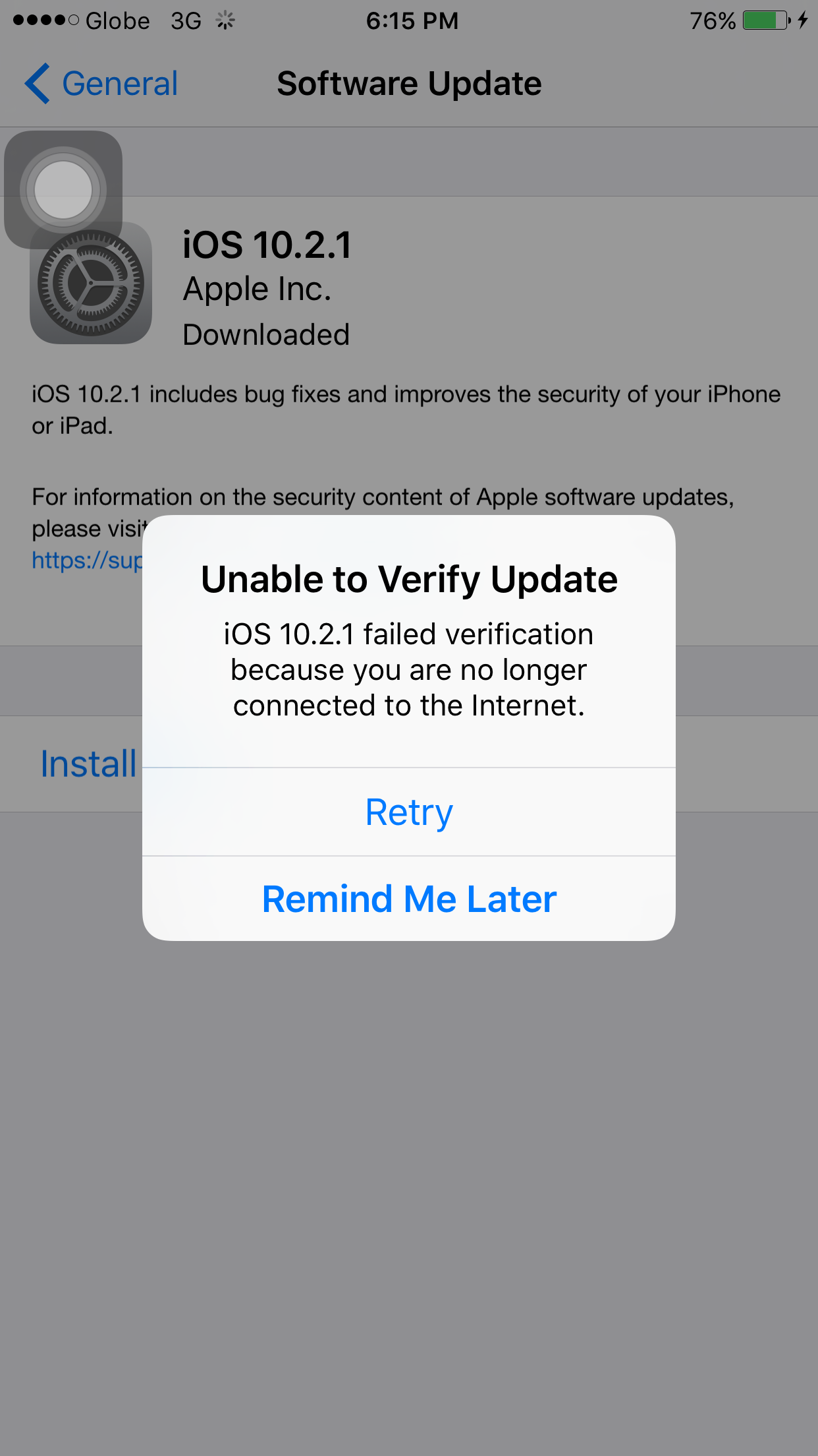 Why can't I download iOS 10 2 1? - Apple Community