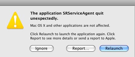 Unexpected quit message wont stop showing… - Apple Community