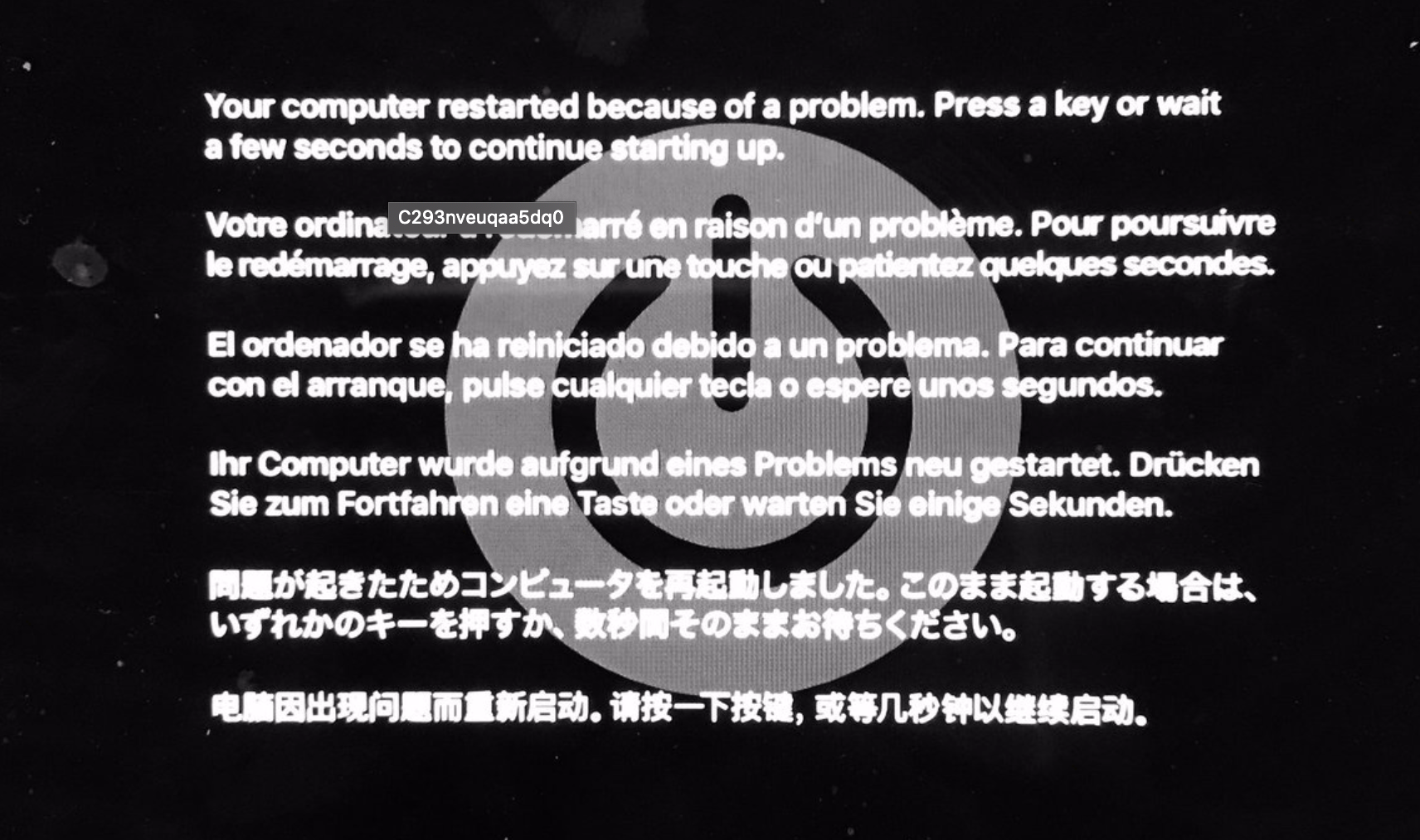 Macbook pro keeps shutting down and restarting how to