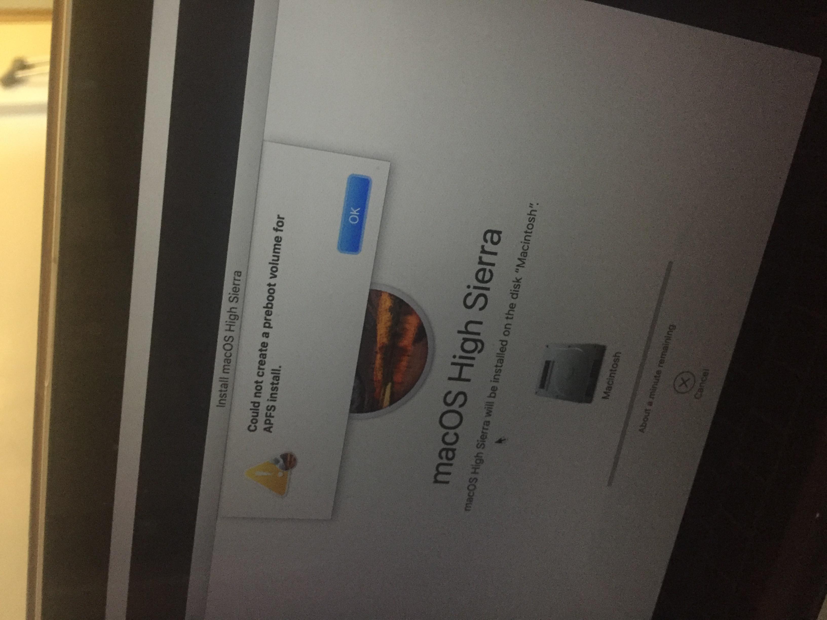 Why can't I reinstall Mac OS high Sierra? - Apple Community