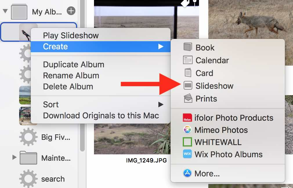 Photos slideshow changes order of photos - Apple Community